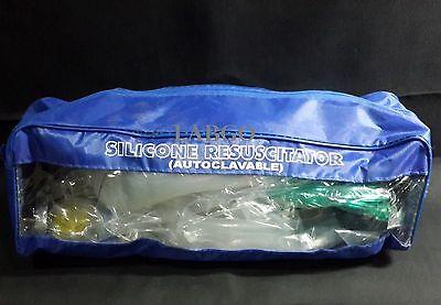 Ambu Bag Manual Resuscitator Breathing Bag Valve Mask Silicon Cpr