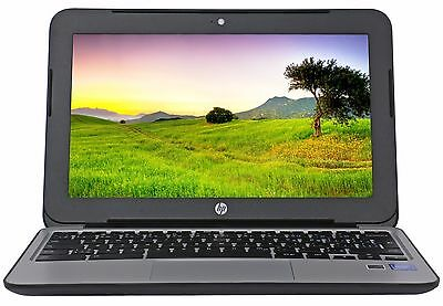 "New HP Sturdy Book 11.6"" Intel Dual Core 2.16GHz 4GB RAM 16GB SSD Chrome OS"