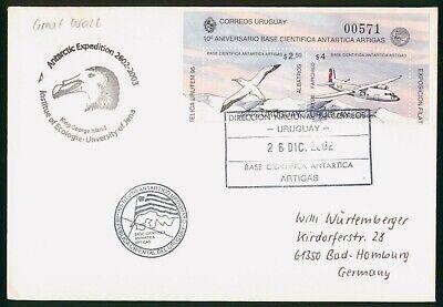 Mayfairstamps Uruguay 2002 Antarctic Expedition King George Island University Co