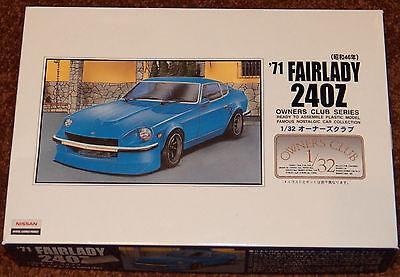 Arii 1971 Datsun Nissan Fairlady 240Z model kit 1/32