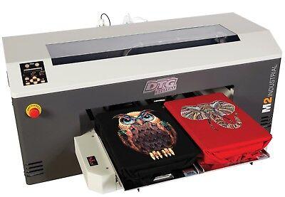 Coldesi Direct To Garment Dtg M2 Bundle W Coldesi Spyder Mini Pre-treat Mach.