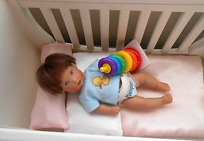 "Fisher Price toy for Ellery Riley Kish 5-8"" baby doll or OOAK polymer clay NIP"