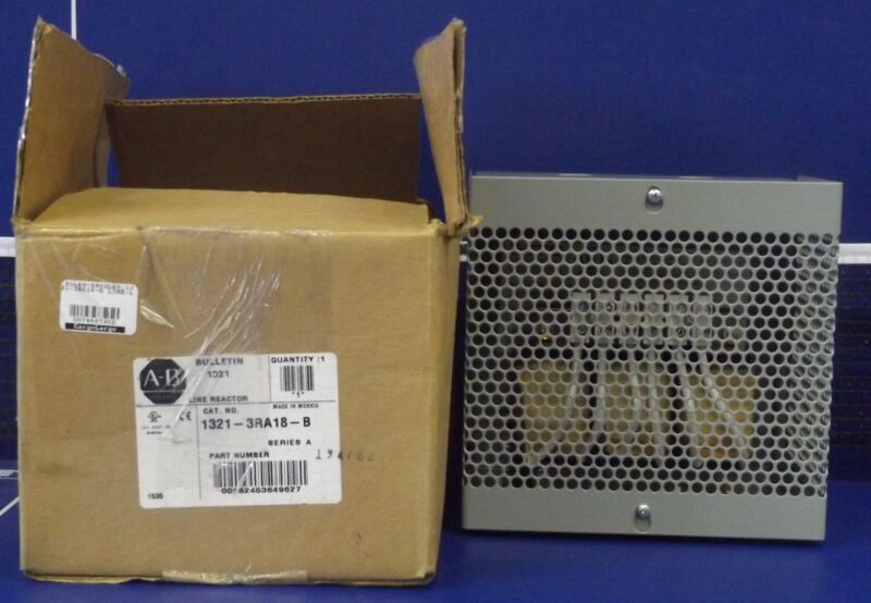 1 NEW ALLEN BRADLEY 1321-3RA18-B THREE-PHASE LINE REACTOR **MAKE OFFER**