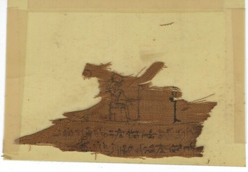 Ptolemaic Mummy Wrapping Fragment