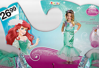 Disney's Princess Ariel Halloween Costume - Girl's Size 7+ M(7-8) New](Princess Ariel Halloween Costume)