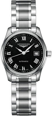 L2.257.4.51.6 | BRAND NEW LONGINES MASTER COLLECTION BLACK DIAL WOMENS WATCH