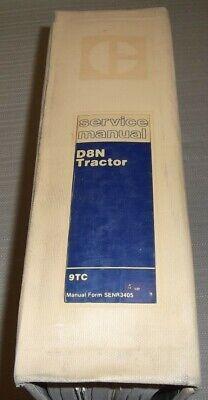 Cat Caterpillar D8n Tractor Dozer Service Shop Repair Book Manual Sn 9tc1-up