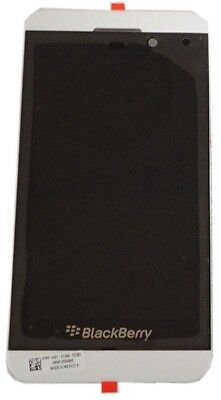 Used, BlackBerry Z10 3G Cellphone LCD Screen Digitizer Assembly W 3G Mid Frame White for sale  Shipping to South Africa