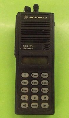 Motorola Mts2000 Flashport Uhf 800 Mhz Radio H01uch6pw1bn An15