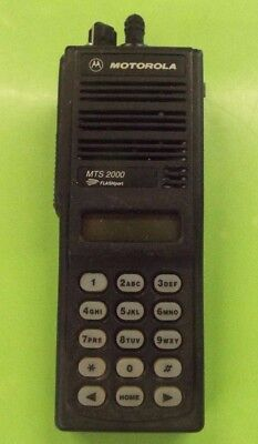 Motorola Mts2000 Flashport Uhf 800 Mhz Radio H01uch6pw1bn D8