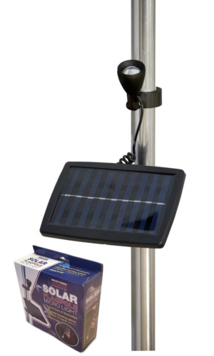 fpml 1 solar flagpole micro light nylon