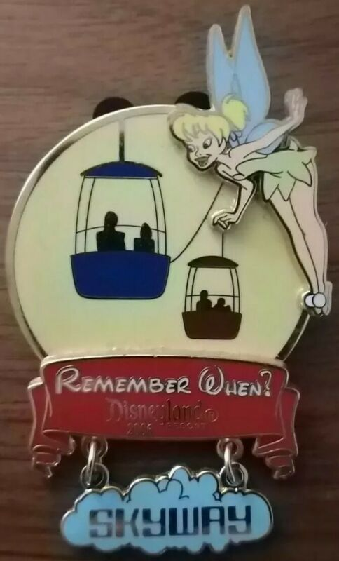 DLR Remember When 2006 Skyway Surprise Release Tinker Bell Tink Disney Pin LE750
