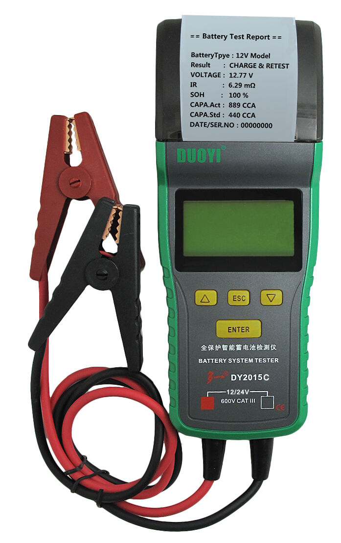 Auto Battery Load Tester : בודקי סוללה sale heavy duty truck automotive car battery