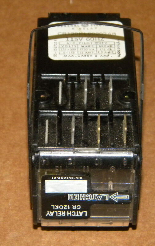 GENERAL ELECTRIC CR120KL00202AB RELAY NEW