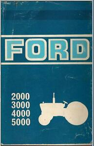 Ford tractor manual ebay ford tractor service manual publicscrutiny Choice Image