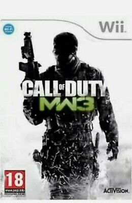 Call of Duty: Modern Warfare 3 MW3 (Nintendo Wii, 2011) - UK...