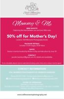 Mother's Day sessions