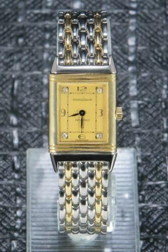 Jaeger-LeCoultre Reverso Unique Original Diamonds Gold/Steel19.2 x 33mm 140.025 - watch picture 1