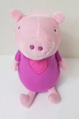 Peppa Pig Plush Piggy Bank Kids Room Decor Money Coin - Peppa Pig Room Decor