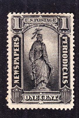 US PR81 1c Newspaper Periodicals Mint VF-XF OG H SCV $95