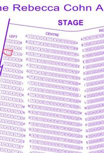 Feist Tickets for Tonight! FOURTH row!! 120$ for Pair!