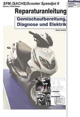 Elektrik 4T Reparaturanleitung  RIS für Flex Tech Fun 50 Diagnose u
