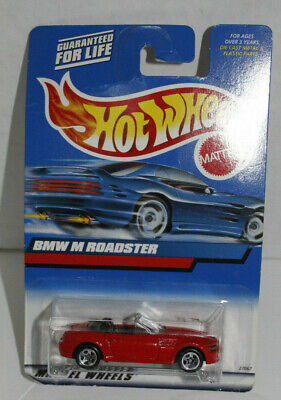 Hot Wheels BMW M Roadster. Red Convertible. #100.