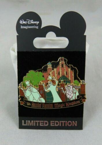 Disney WDI Pin - Magic Kingdom - Haunted Mansion - Hitchhiking Ghosts