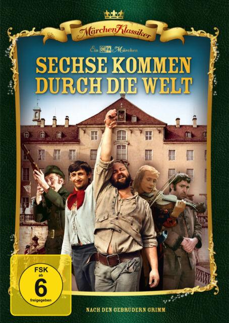 Sechse kommen durch die Welt - Märchen Klassiker - DVD - Neu u. OVP