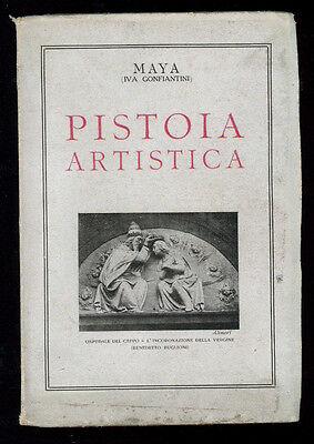 MAYA IVA GONFIANTINI PISTOIA ARTISTICA ALBERTO PACINOTTI 1927 LOCALE TOSCANA