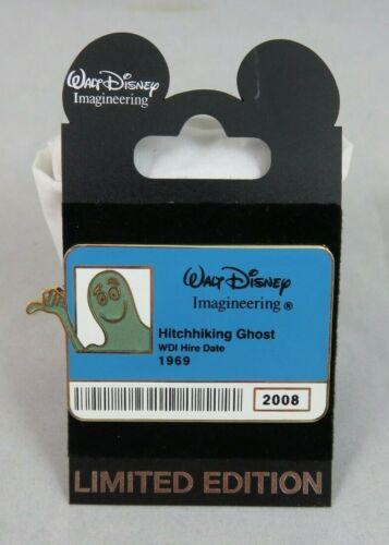 Disney WDI Pin - Cast ID Badge Series 2 - Haunted Mansion Hitchhiking Ghost Ezra