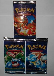 One-Pokemon-Basic-1st-Edition-Sealed-Booster-Pack-From-Box-Spanish-Very-Rare