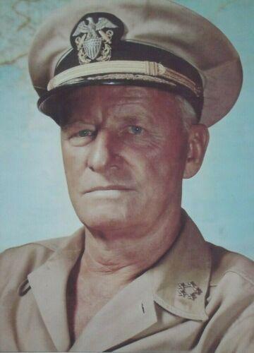 Admiral Chester Nimitz World War II U.S Naval Commander Signed Autograph