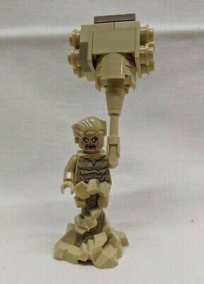 Lego Marvel 76114 Spiderman's Spider Crawler SANDMAN sand base mallet minifigure