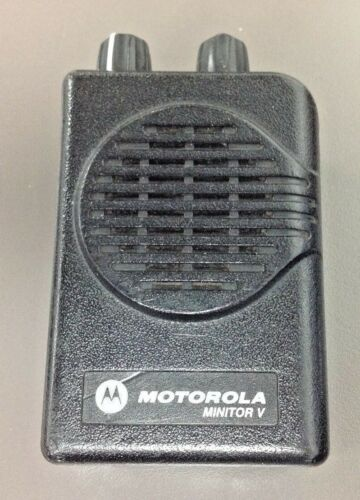 Motorola Minitor 5 Pager, Model # A03KMS9238BC, VHF, 2 CH* SV, Charger, NO BAT