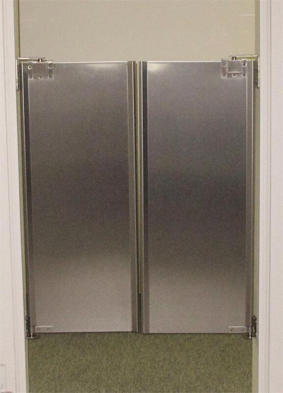 """Cafe Door 36""""x42"""" Stainless Steel Double Swing Restaurant Kitchen Traffic Doors."""