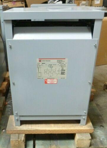 New Cutler Hammer 45 kVA 480 Delta to 240 Delta 3PH Dry Type Transformer W/ Taps