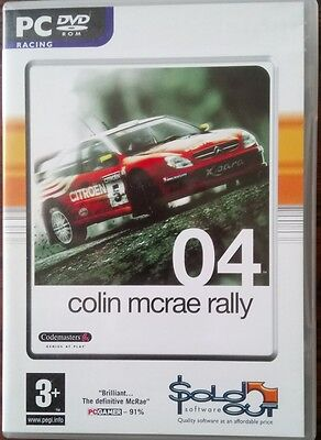 Colin McRae Rally 04 - PC game