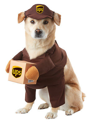UPS Parcel Delivery Dog Costumes Pet Costume