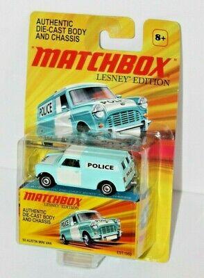 NIP Matchbox Lesney Edition '65 Austin Police Mini Van