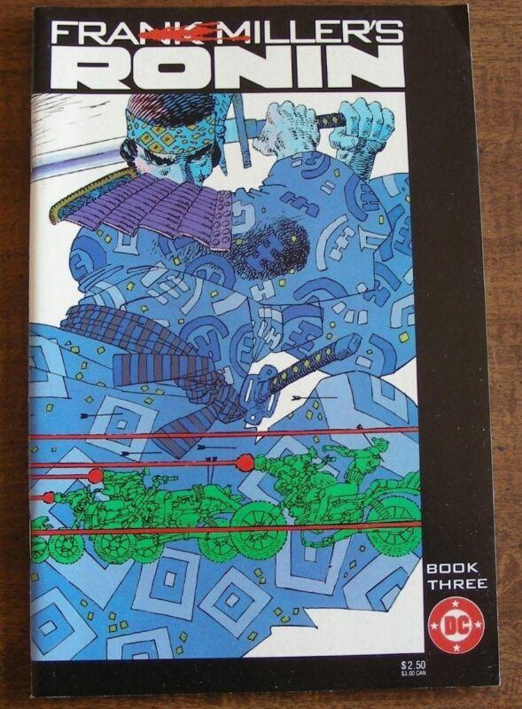 Ronin #3, VF, Frank Miller, 1983 DC Comics 1st Printing, $3 Shipping