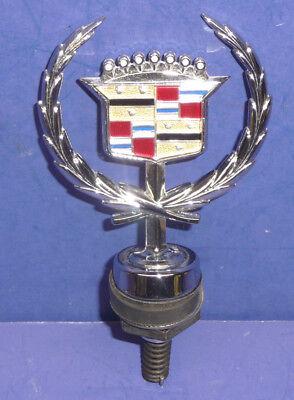 NOS OEM GM 1989-93 Cadillac FWD Fleetwood Deville Hood Ornament Emblem SCT3