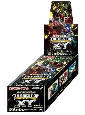"Pokemon Card Game High Class Pack THE BEST OF XY BOX Booster Pack ""sealed"""