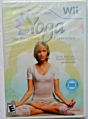 Yoga WII New Nintendo Wii New Factory Sealed