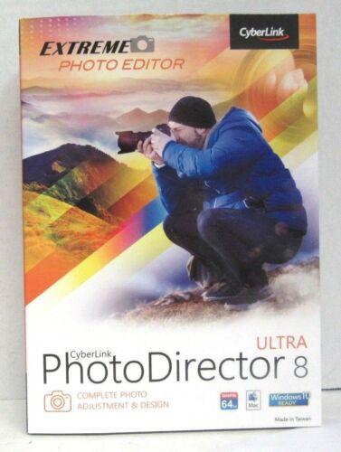 PhotoDirector 8 Ultra Mac|Windows CYB945800F162