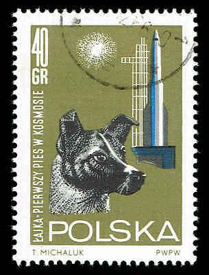Scott # 1293 - 1964 - ' Dog Laika & Launching Tower '