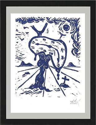 "Salvador Dali Orig. Ltd Ed Print ""Memory Landscape"" Hand Signed w/COA (unframed)"
