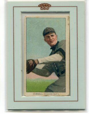 2002 Topps 206 Buyback 1909-11 t206 374 Orval Overall Hands at Waist Piedmont