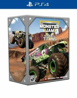 Monster Jam Steel Titans Collectors Edition Sony PS4 Playstation 4 Truck Game (Monster Truck Ps4)
