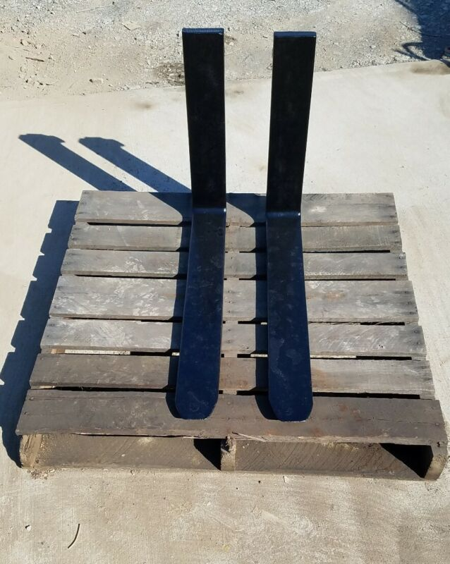 """Class 2 30"""" Forklift Forks - great for Skid Loader Use - Perfect Condition"""